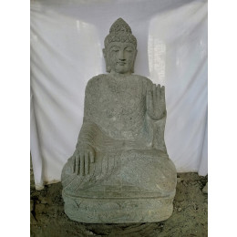 grande statue 2 m bouddha assis en fibre de verre position offrande. Black Bedroom Furniture Sets. Home Design Ideas