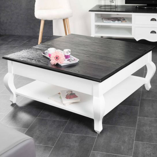 Table basse en acajou Idao 95