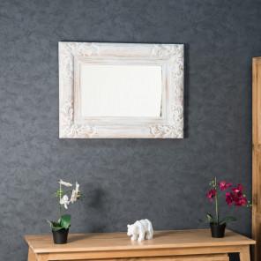 miroir blanc sculpté Valence