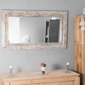 Miroir en bois bronze 140cm x 80cm