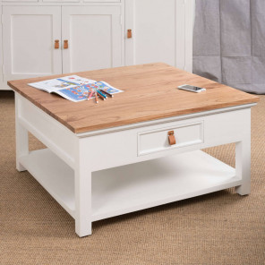 Table basse en acajou Chic 90