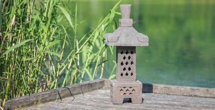 Lanterne Japonaise Lampe De Jardin En Pierre Naturelle