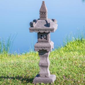 eclairage de jardin en pierre clairage ext rieur en pierre naturelle. Black Bedroom Furniture Sets. Home Design Ideas