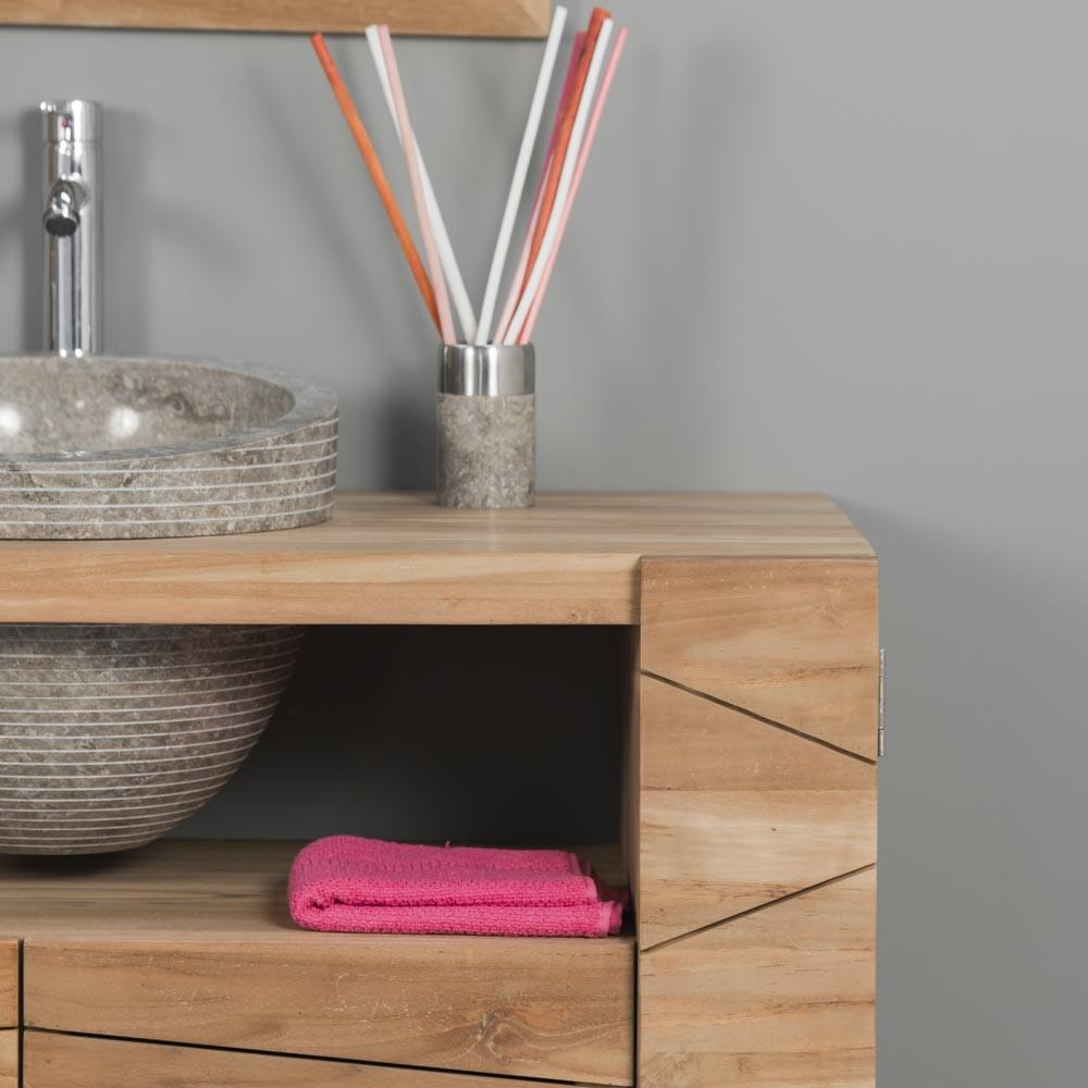 Double vasque 110 cm des id es novatrices sur la - Meuble salle de bain 110 cm ...