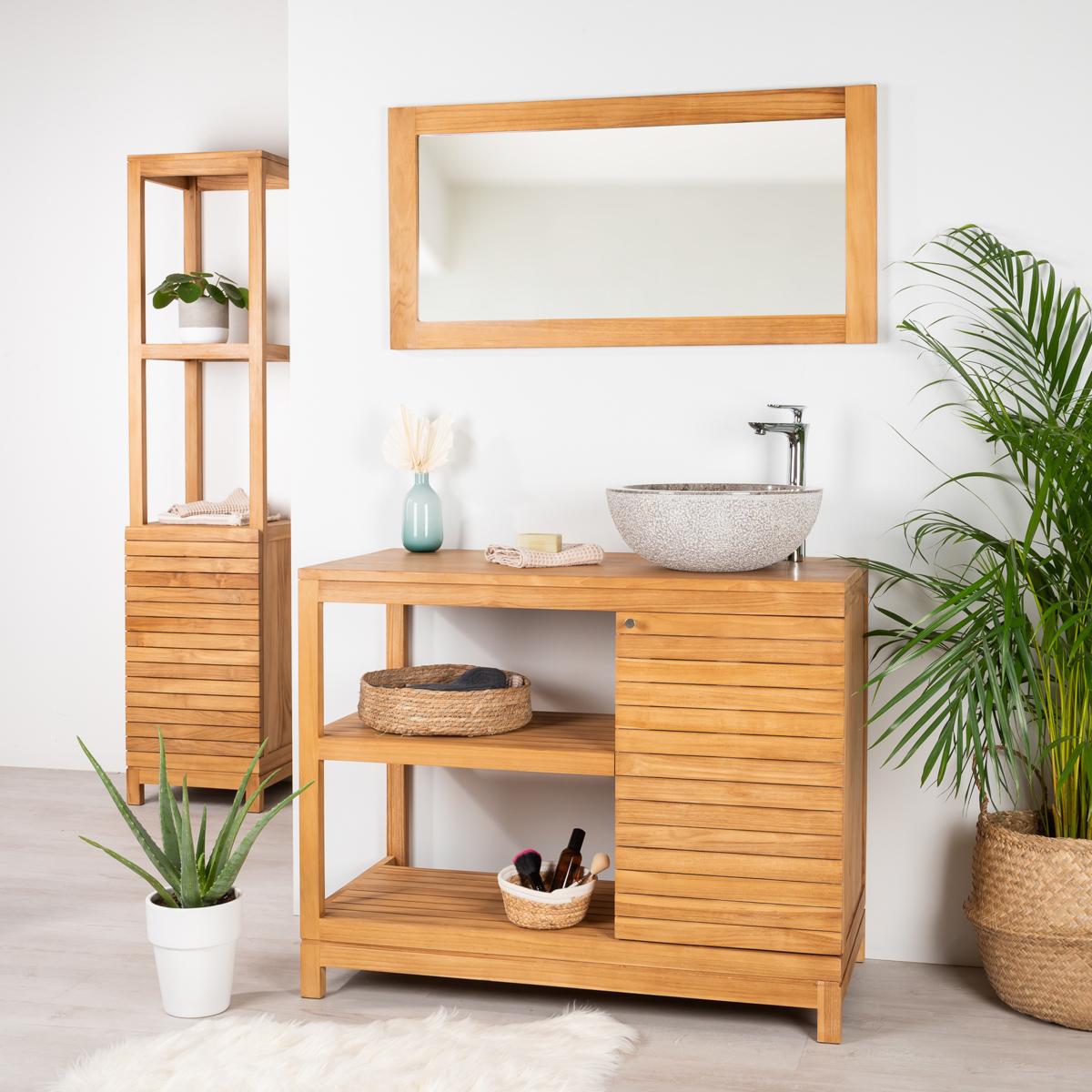 Meuble contemporain en bois massif : moderne   wanda collection