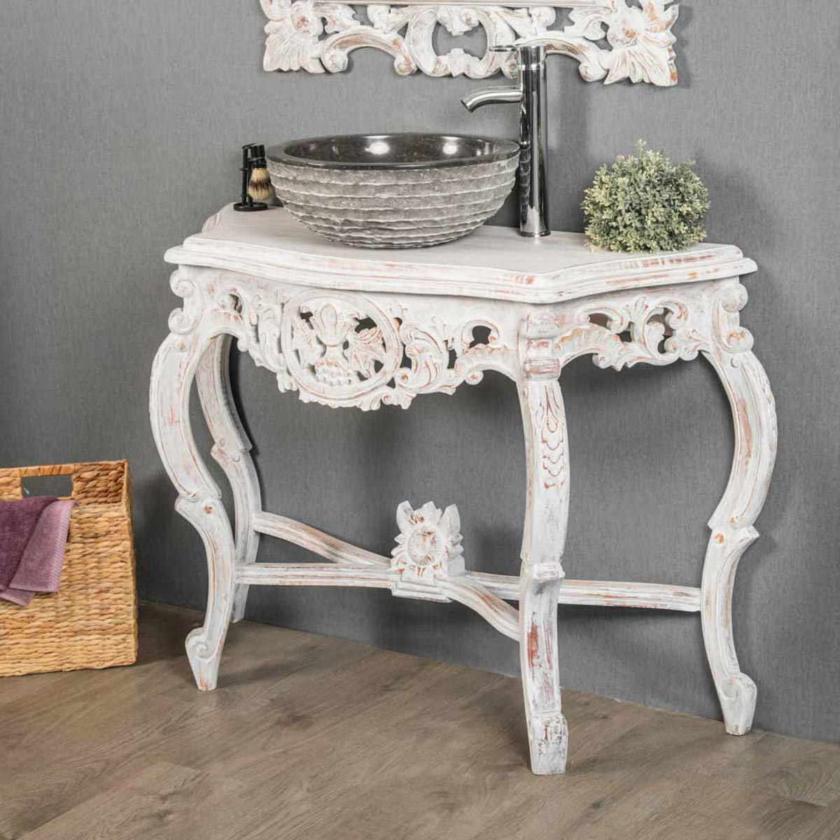 Meuble Baroque Blanc Commode Blanche Style Baroque