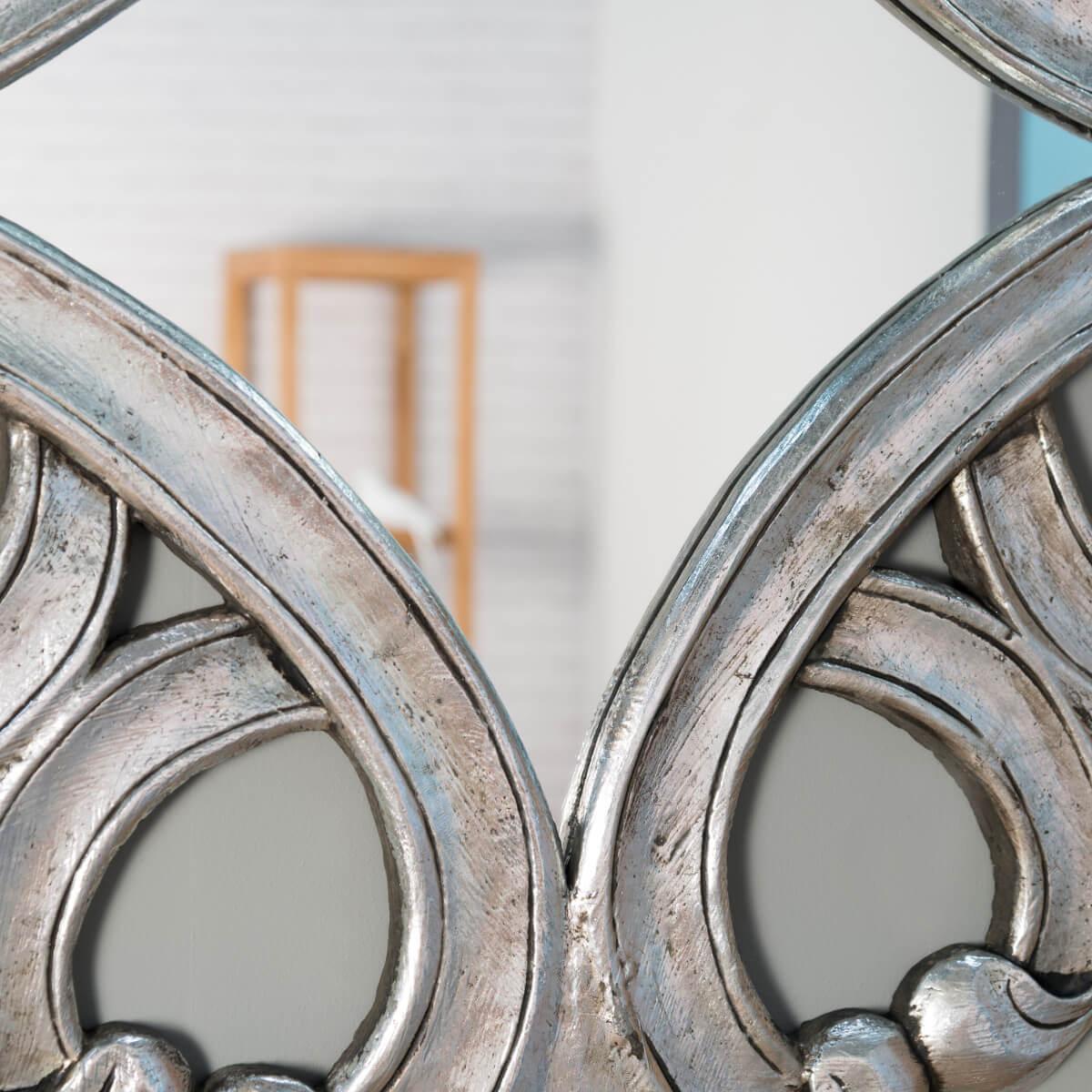Eclairage Salle De Bain Au Dessus Miroir : Wanda Collection . Salon . Miroir . miroir argenté . Miroir Impérial …