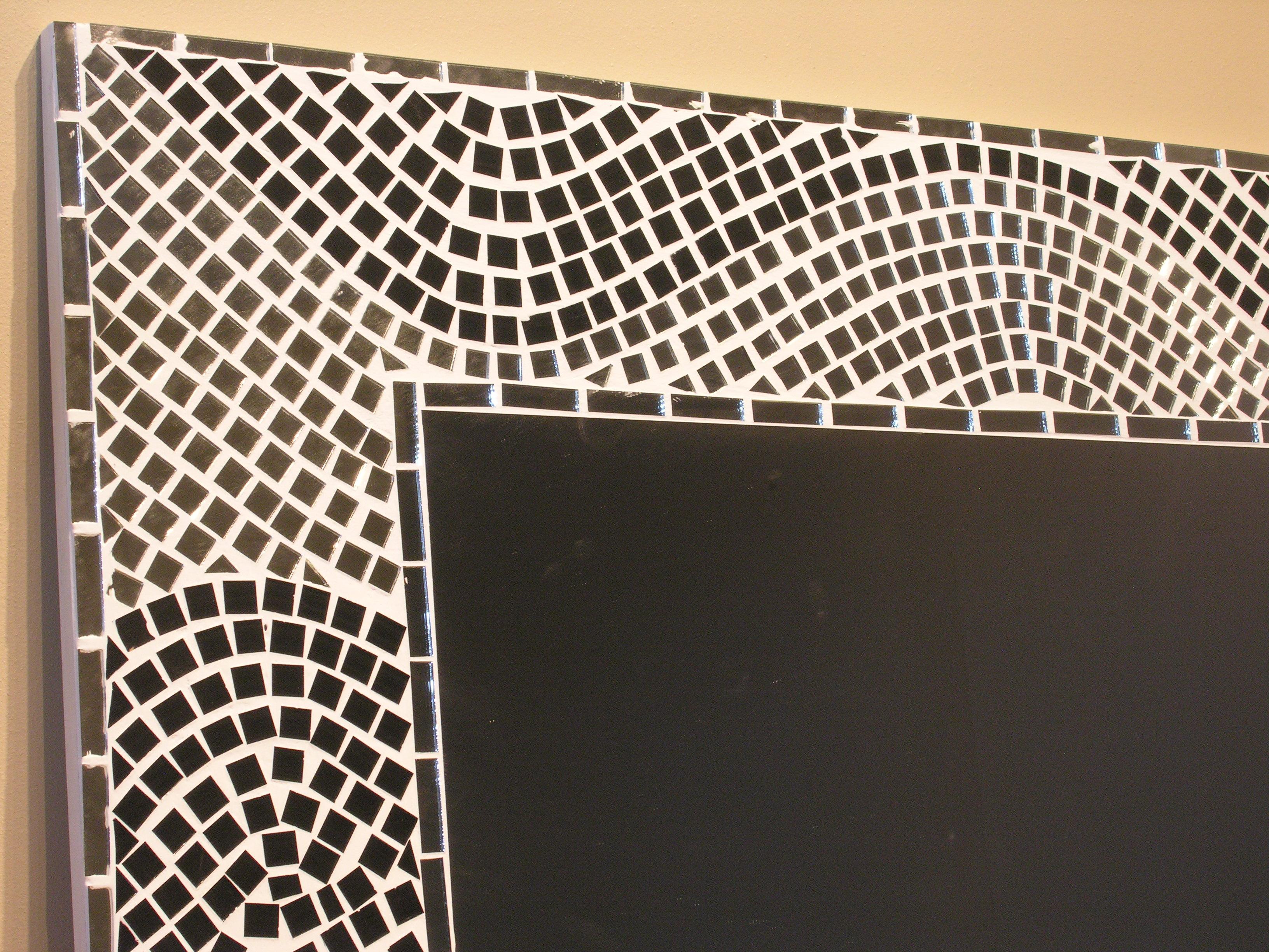 Meubles de salle de bain en teck d co maison jardin for Miroir mosaique