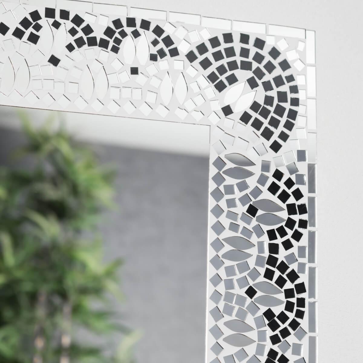 Mosaique noir et blanc maison design - Mosaique noire ...