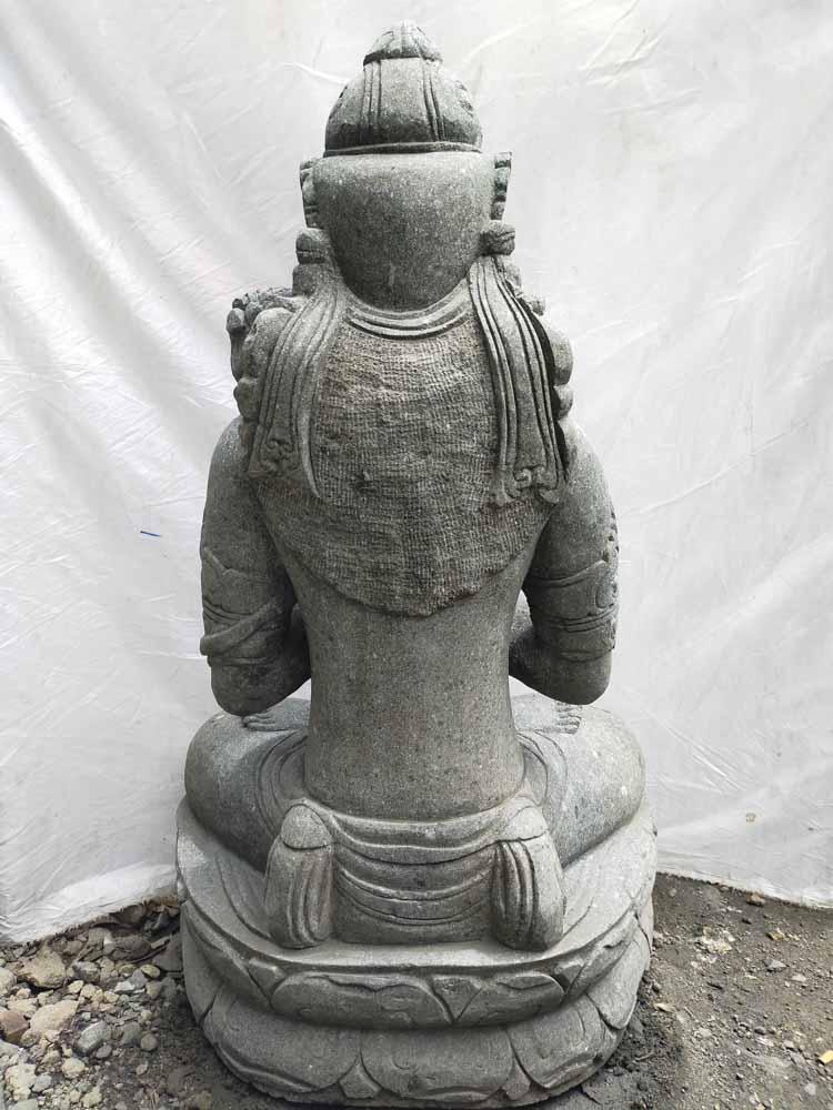 Statue D Esse Balinaise En Pierre Naturelle
