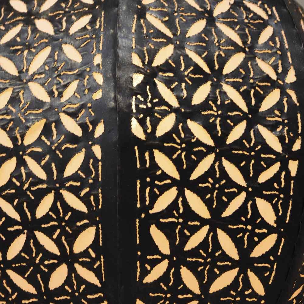 Luminaire lustre suspendu acier rond blanc D 40 cm H 45 cm 1568