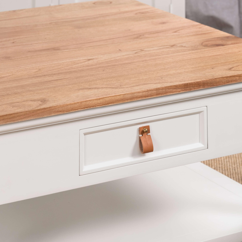 table basse en acajou chic 90. Black Bedroom Furniture Sets. Home Design Ideas