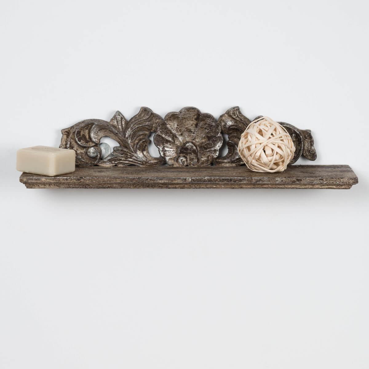 Tablette baroque bronze 50 cm - Wanda collection ...