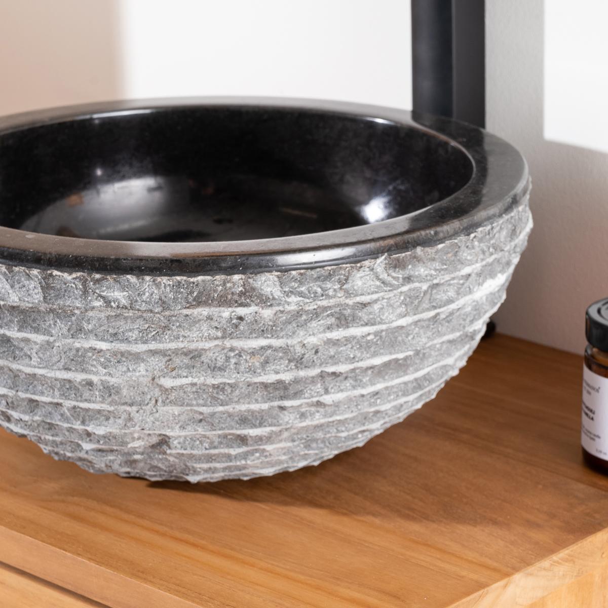 Vasque en pierre for Vasques import
