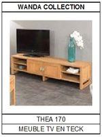 Meuble TV en teck Théa 170