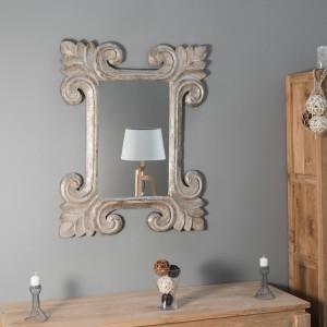 Miroir Tolède bronze 80 x 100cm