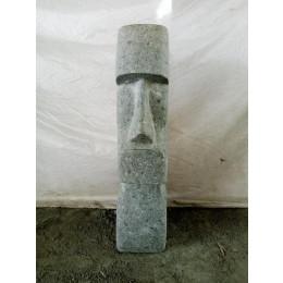 Easter Island volcanic rock Moai statue 60 cm