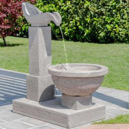 Fontaine de jardin cascade 120 cm