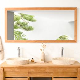 grand miroir teck 145cm