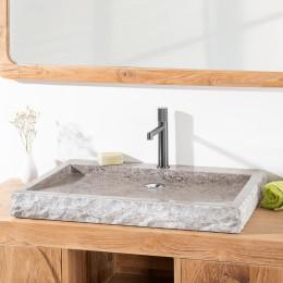 vasque cosy 70cm gris