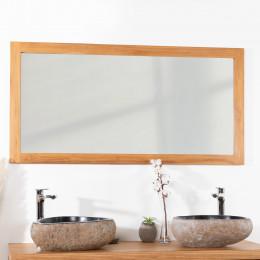 miroir teck 140cm