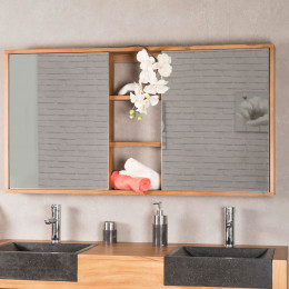 Mirror bathroom cupboard 130 cm