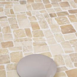 Revêtement mosaïque en marbre et onyx