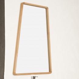 teak bathroom mirror