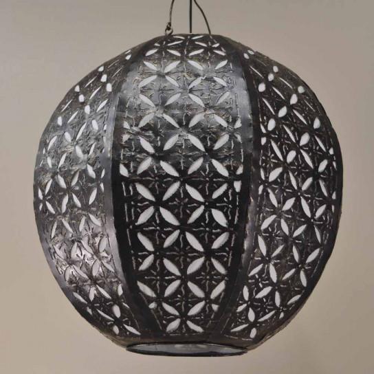 steel ceiling light