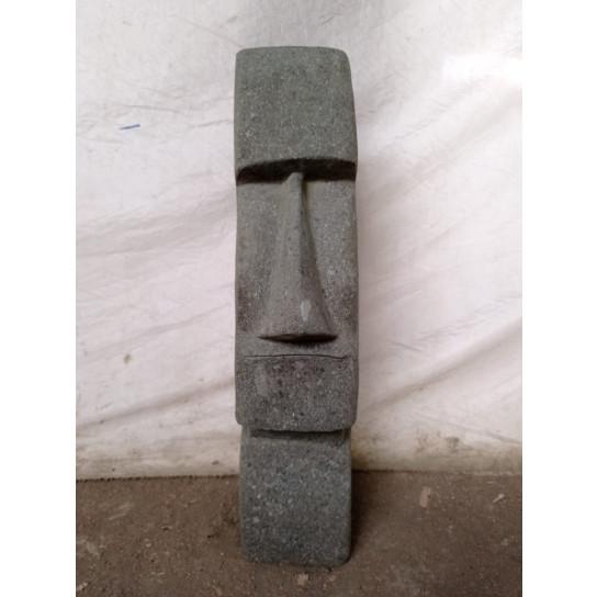 Easter Island andesite volcanic rock Moai statue 60 cm