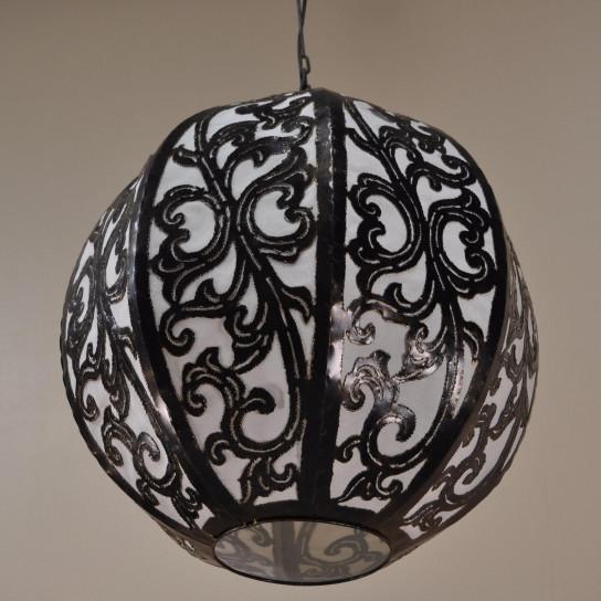 Lámpara de techo araña de acero decoración 40cm
