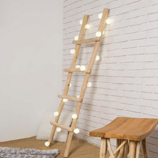 teak towel holder ladder