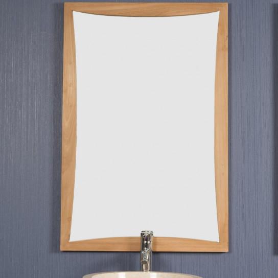 Miroir en teck TANGO 60 X 90 cm