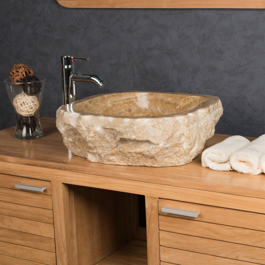 Onyx stone countertop bathroom sink 40 - 45 cm