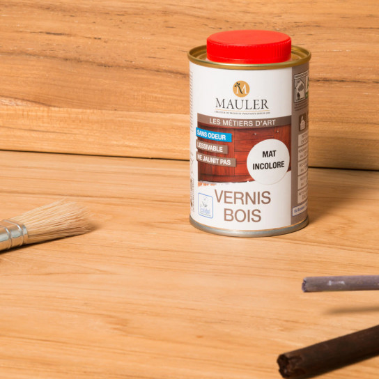 Protective varnish for wood furniture