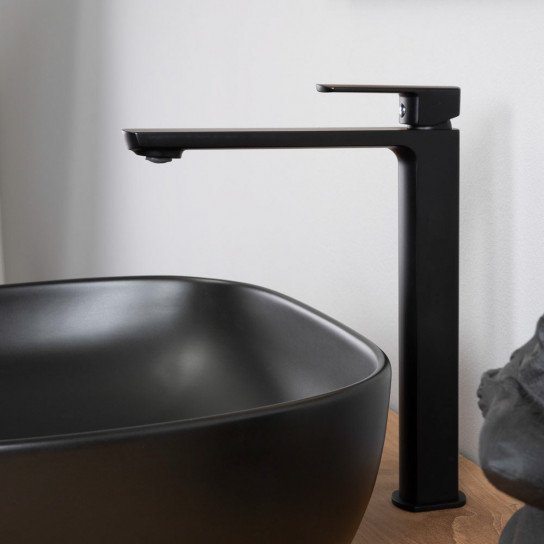 Mitigeur haut pour vasque à poser Louga chrome