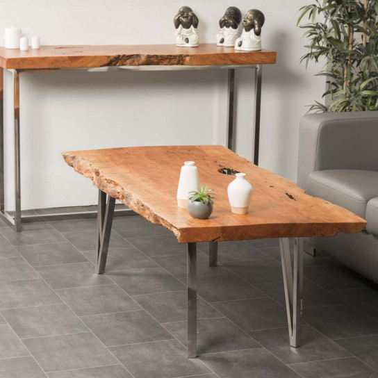 Table basse bois FARM 130