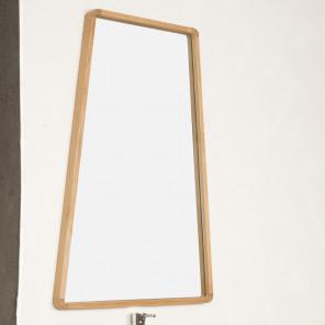 Espejo de cuarto de baño de teca TIPI 110 X 69 cm