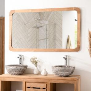 Espejo grande teca Retro 120 x 70