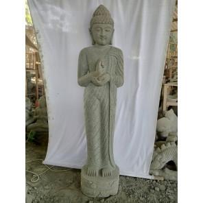 Estatua de piedra Buda de pie chakra 2 m