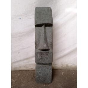 Estatua Isla de Pascua Moái roca volcánica andesita 60 cm