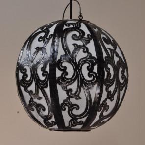 Lámpara de techo en acero deco 35cm