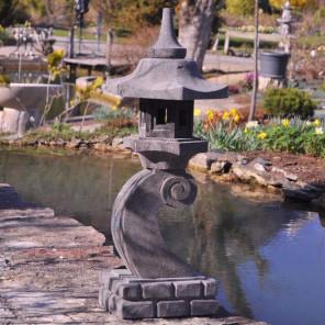 lanterne japonaise pierre de la lave