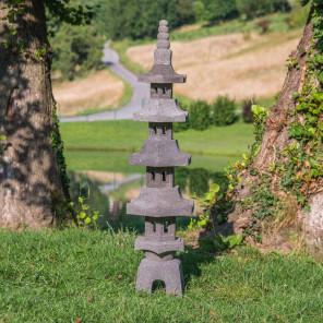 Lava stone pagoda Japanese lantern 130 cm