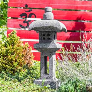 Lava stone pagoda Japanese lantern
