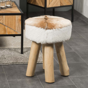 Lodge round stool