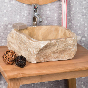 Onyx stone countertop bathroom sink 30-35 cm