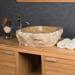Onyx stone countertop bathroom sink 40 - 45 cm