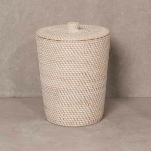 Plant fibre bathroom bin