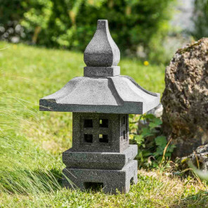 Zen decorative Japanese garden lantern 50 cm
